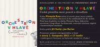 Pozvánka na křest knihy Orchestrion v hlavě