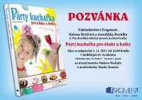 Párty kuchařce pro kluky a holky zazpívá při křtu i Václav Neckář