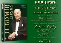 Pozvánka na setkání s hercem Lubomírem Lipským