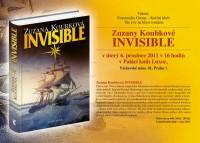 Pozvánka na křest románu Zuzany Koubkové Invisible