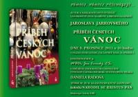 Pozvánka na křest knihy Příběh českých vánoc