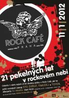 Rock Café slaví 21 pekelných let v rockovém nebi