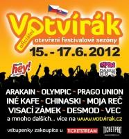 Festival Votvírák  2012 - Svátek česko-slovenské hudby