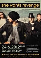 Koncert amerických She Wants Revenge změnil datum