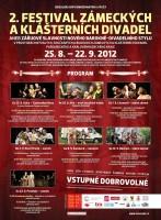 Festival zámeckých a klášterních divadel 2012