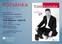 Pozvánka na besedu a autogramiádu Tomia Okamury do Plzně