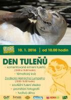 Den tuleňů vústecké zoo v neděli 10. ledna 2016