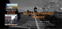 Pozvánka na křest knihy Motorkářský průvodce po Moravě