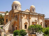 Malebný klášter Agia Triada