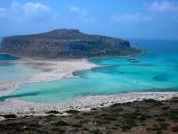 Záliv Gramvousa připomíná Karibik