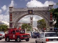Hlavní město Barbadosu Bridgetown