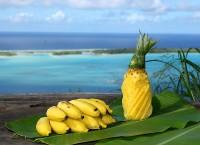 O čerstvé ovoce není na ostrově nouze
