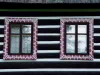 Malebná lidová architektura vesnice Ždiar