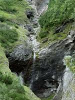 Vodopád v Monkově dolině