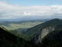 Monkova dolina, v pozadí vesnice Ždiar