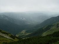 Dolina Zadné Meďodoly z Širokého sedla