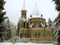 Zimní Schwarzenberská hrobka