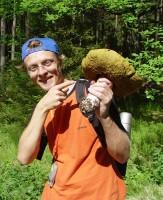 Obrovský houbový úlovek