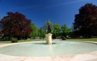 Park osvěžují různé fontány