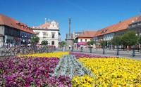 Jiřího náměstí s morovým sloupem