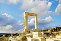 Chrám Portara na ostrově Naxos