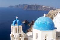 Městečko Oia na Santorini