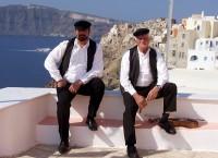 Na ostrově Santorini