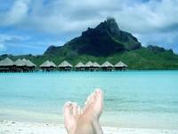 Tomu se říká pohoda na Bora Bora