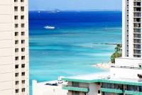 Proslavená havajská pláž Waikiki