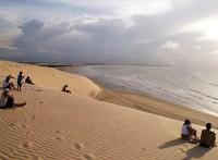 Západ slunce na duně Pôr do Sol