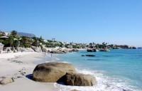Clifton Beach s granitovými balvany