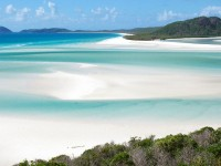 Whitehaven Beach na Whitsunday Island