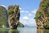 Ostrov Jamese Bonda v zátoce Phang Nga