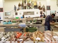 Rybí trh na Mercado dos Lavradores
