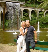 S Alanem a Kristinou Bastienovými na ostrov Madeira