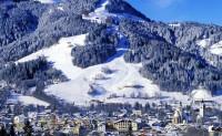 Sněhové království v Kitzbühelu