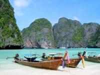Oblíbená thajská pláž Maya
