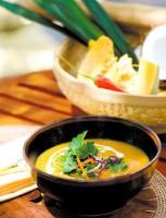 Koření do thajských polévek si Štěpánka vozí z Thajska