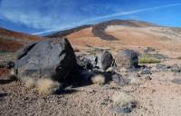 Černá lávová vejce Huevos del Teide