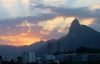 Západ slunce v Rio de Janeiro