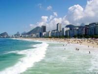 Slavná nejkrásnější pláž Copacabana